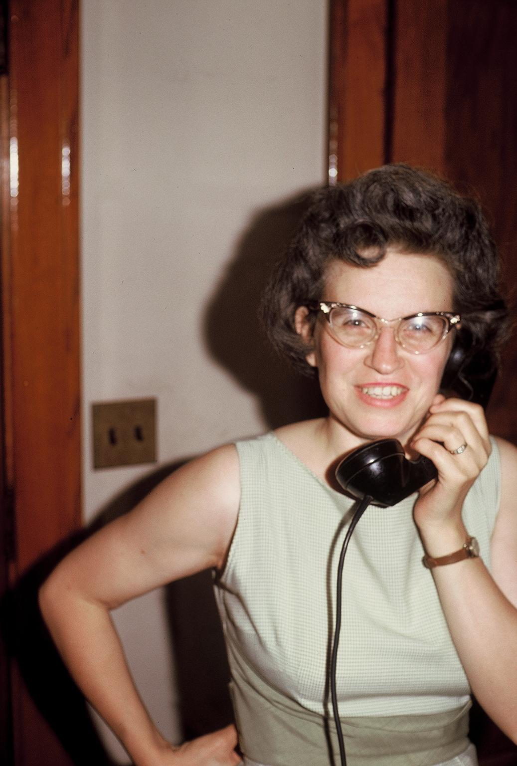 Jane on the phone