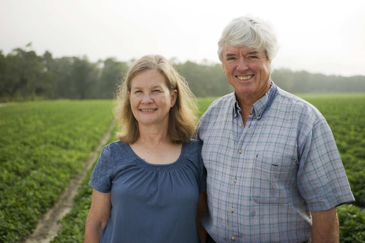 Connie and Jimmy Hayes, in Proof Is in the Certification, by Connie & Jimmy Hayes, for South Georgia Growing Local 2014, 2013-01-04--proof.txt