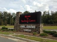 Sign, in Pine Grove Campus, by Gretchen Quarterman, 25 January 2012
