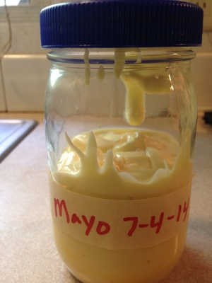 300x400 Mayonnaise, in Making Mayo at Home, by Gretchen Quarterman, for OkraParadiseFarms.com, 11 July 2014