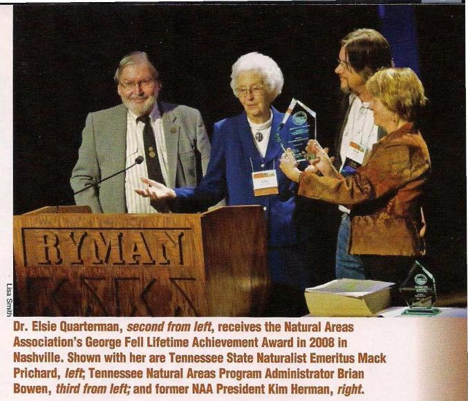 677x581 George Fell Lifetime Achievement Award 2008, in Tennessee Conservationist, by Brian Bowen, for OkraParadiseFarms.com, 1 September 2014