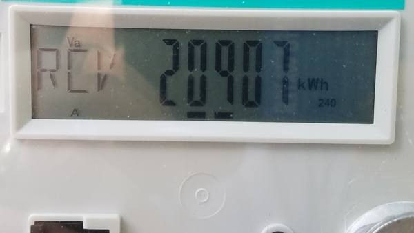 Received: 20907 kWh