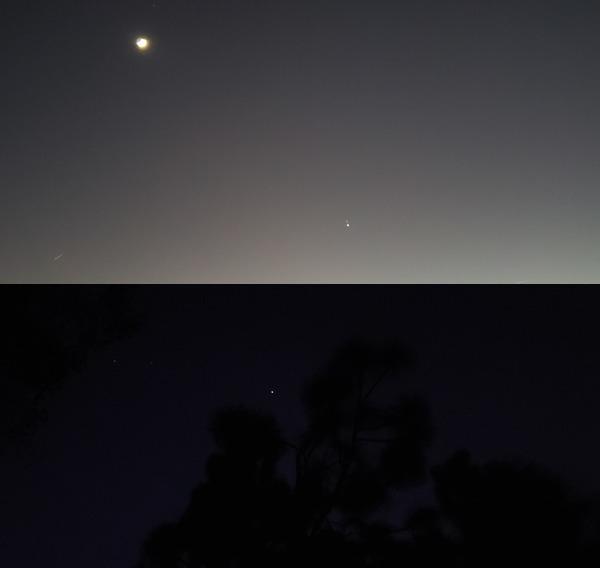 [Moon, Saturn, Jupiter, Mars]